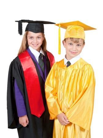 Graduation Gowns for Children