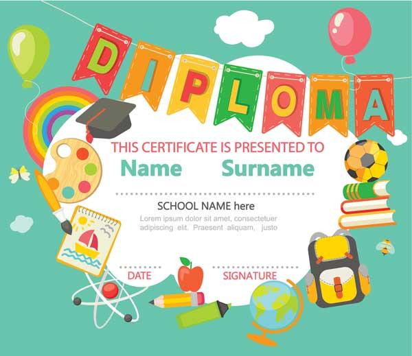 Nursery-Graduation-Ceremony-Diploma-Certificate
