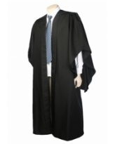 Academic Gown (Fluted Bachelor)