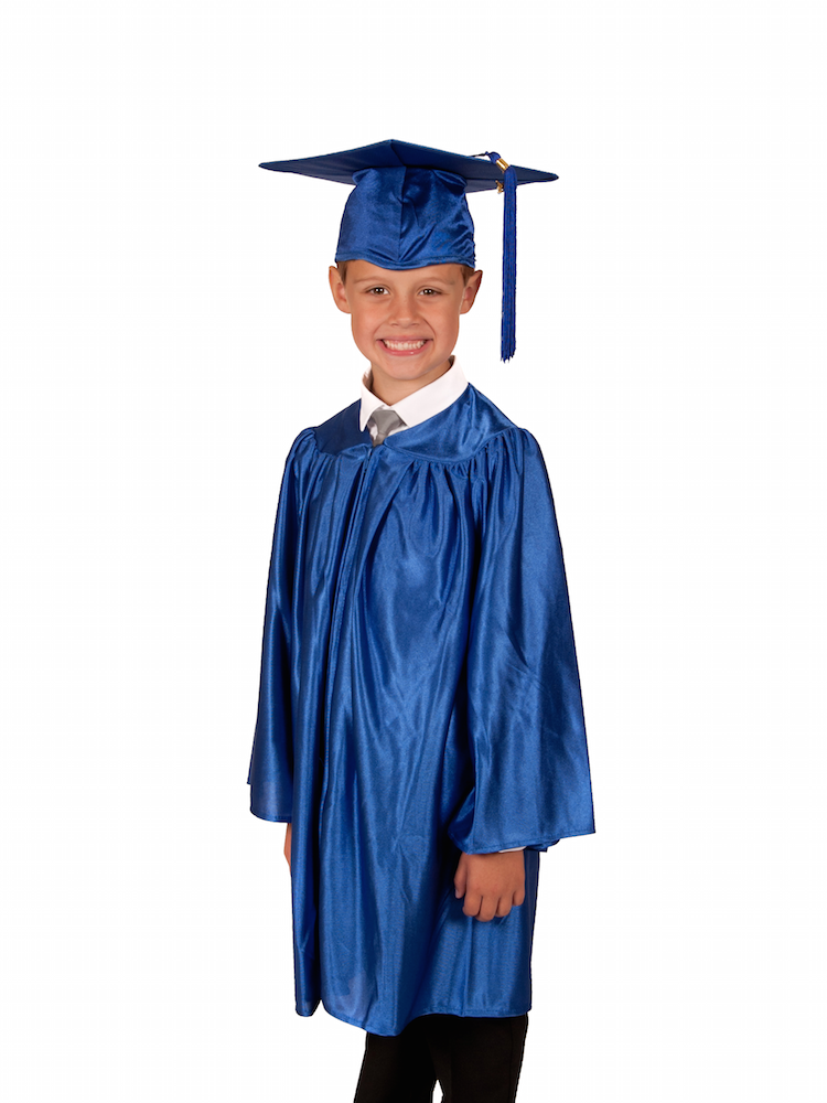 Childrens' American-Style Graduation Gown