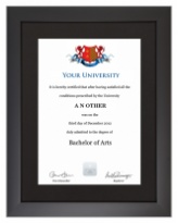 Degree/Certificate Display Frame - Modern Style
