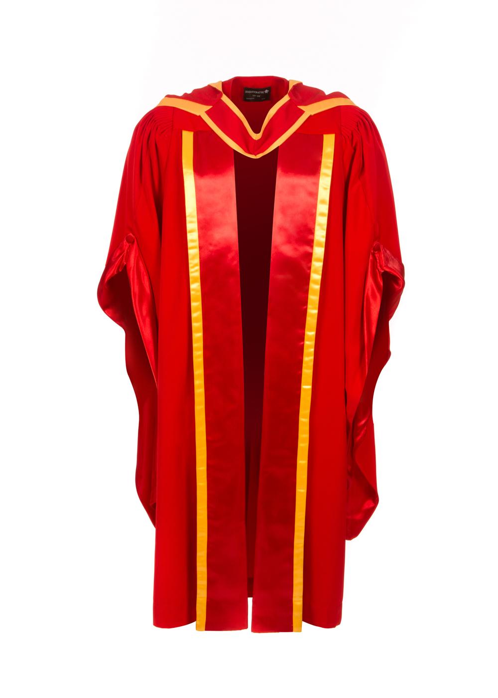 Doctoral Gown, Hood and Bonnet - Graduation Gowns | Graduation Attire