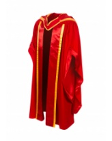 Doctoral Gown, Hood and Bonnet