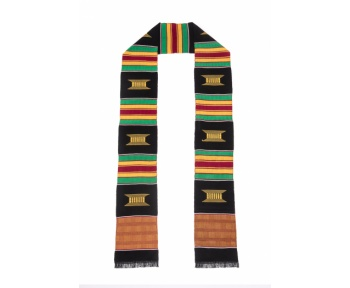 Traditional Kente Cloth Graduation Stoles