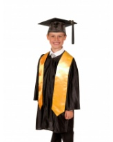 Shiny Primary School Graduation Gown, Cap and Stole