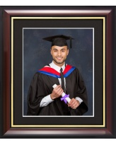 Graduation Photo Frame 10 x 8  - Traditional Style (Photo Not Included)