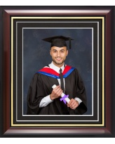 Double Mounted Graduation Photo Frame 10
