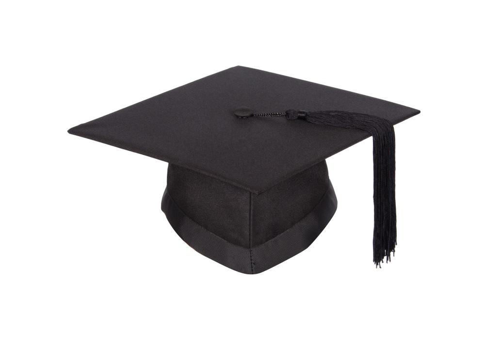 Mortarboard for Graduation Ceremony with Graduation Attire