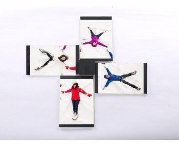 Flexible Stackable Photo Frames