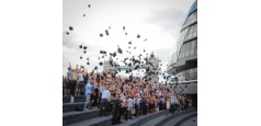 London students break Guinness world record for largest mortarboard toss - with a little help from us ;)